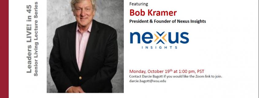 Bob Kramer Granger Cobb Institute