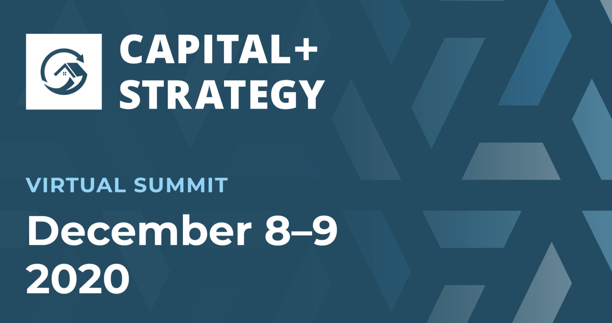 Capital + Strategy Virtual Summit 2020