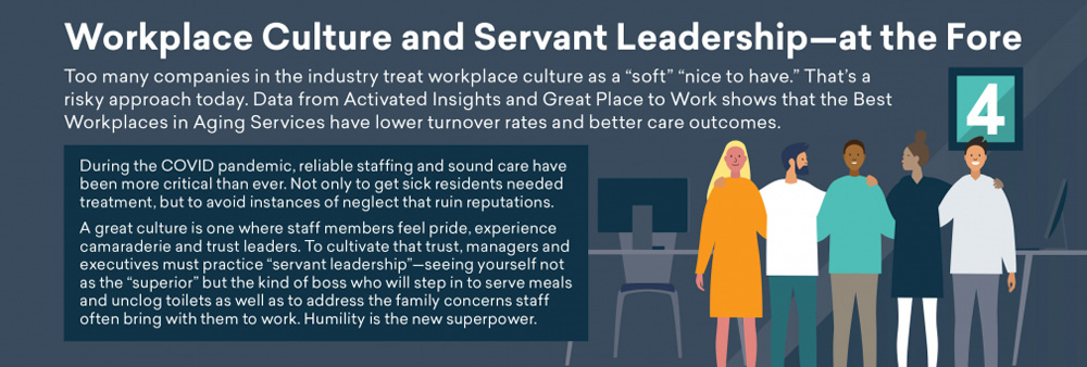 Prediction 4 - Workplace culture and servant leadership - at the Fore