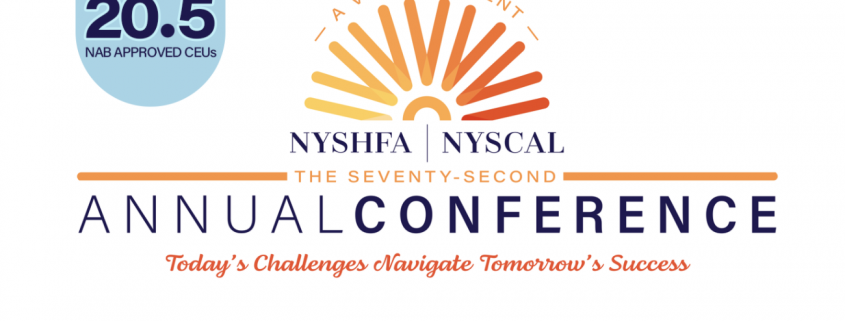 NYSHFA NYSCAL 72 annual conference