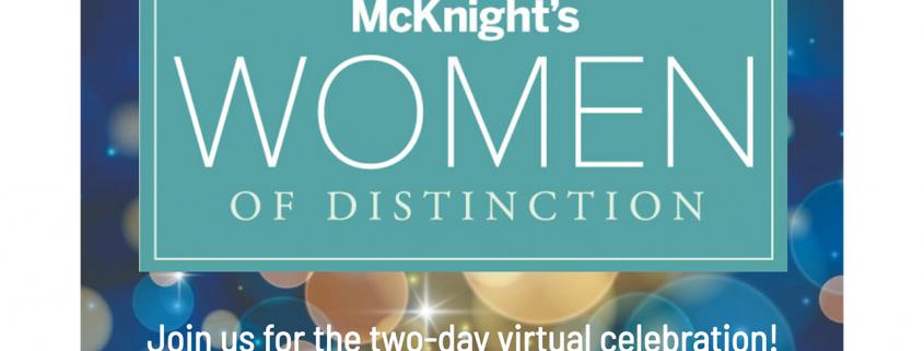 McKnight's Women of Distinction 2021