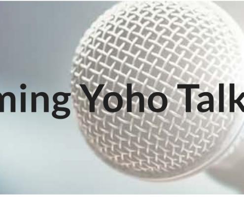 Yoho talk with Sara Zeff Geber
