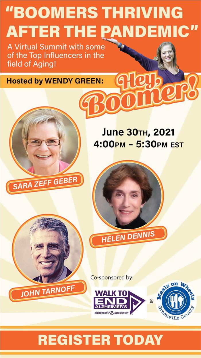 Sara Zeff Geber on Hey Boomer
