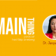 Dr. Jacquelyn Kung on The Main Thing podcast