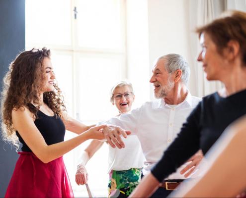Experience design in senior living