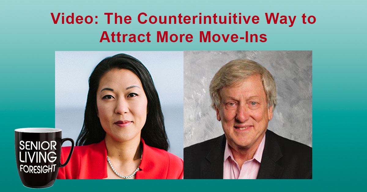 Jacquelyn Kung and Bob Kramer discuss surprises about Senior Living during the pandemic