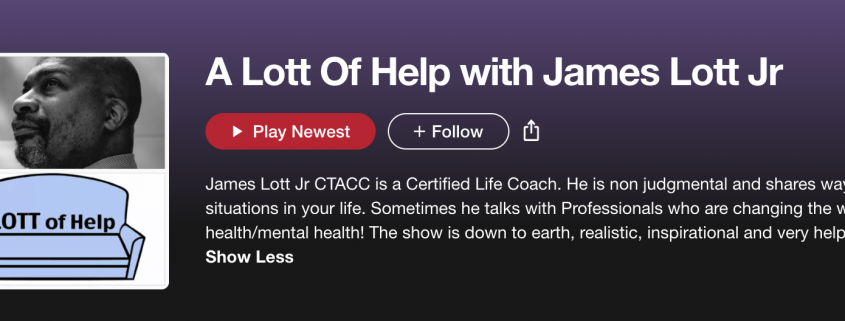 A lot of Help with James Lott Jr